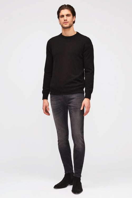 7 For all Mankind - Ronnie Tapered Luxe Performance Plus Washed Black