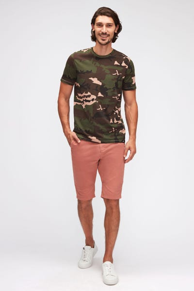 SLIMMY CHINO SHORTS WEIGHTLESS COLORS  DUSTY PINK