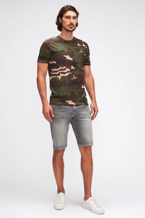 REGULAR SHORTS HEMET GREY