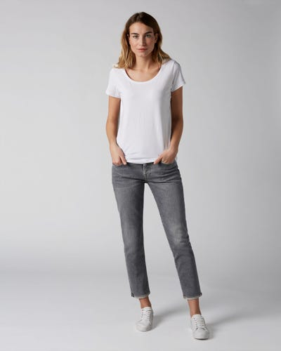 7 For All Mankind - Asher Vintage Highland With Roll Hem