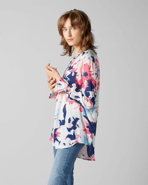 7 For All Mankind - Blouse Viscose Floral Print