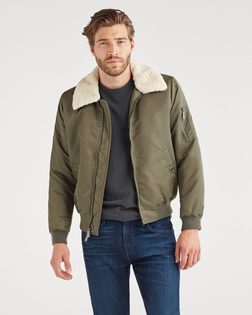 7 For all Mankind - Military Bomber In Army