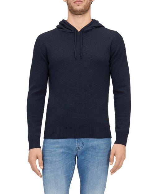 HOODIE CASHMERE INK BLUE
