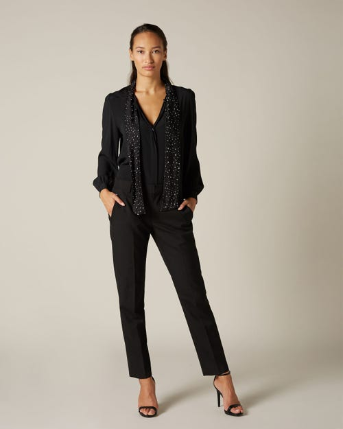 CIGARETTE TROUSER BLACK
