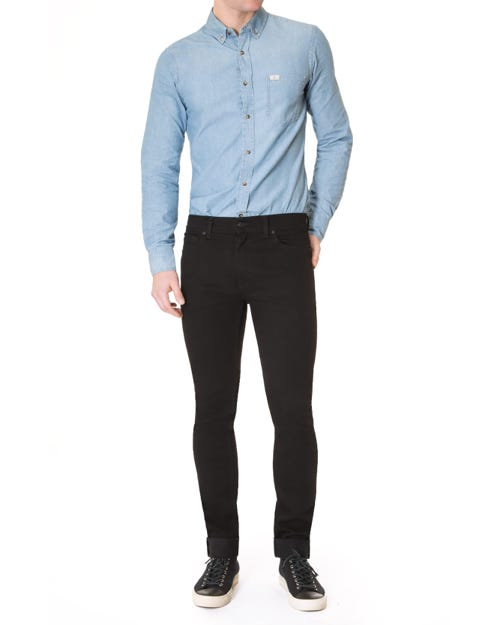 7 For All Mankind - Ronnie Rinse Black
