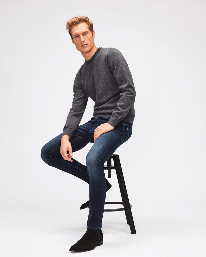 f1f2744f RONNIE LUXE PERFORMANCE HUNTLEY DARK BLUE | 7 For All Mankind