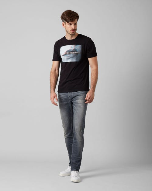 7 For All Mankind - Ronnie Framed Grey