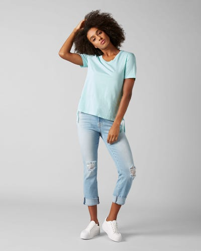 RELAXED SKINNY LUXE VINTAGE MONTEREY DISTRESSED