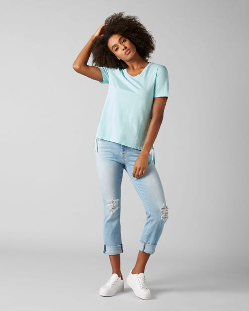 7 For All Mankind - Relaxed Skinny Luxe Vintage Monterey Distressed