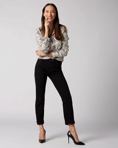7 For All Mankind - Relaxed Skinny Slim Illusion Fame