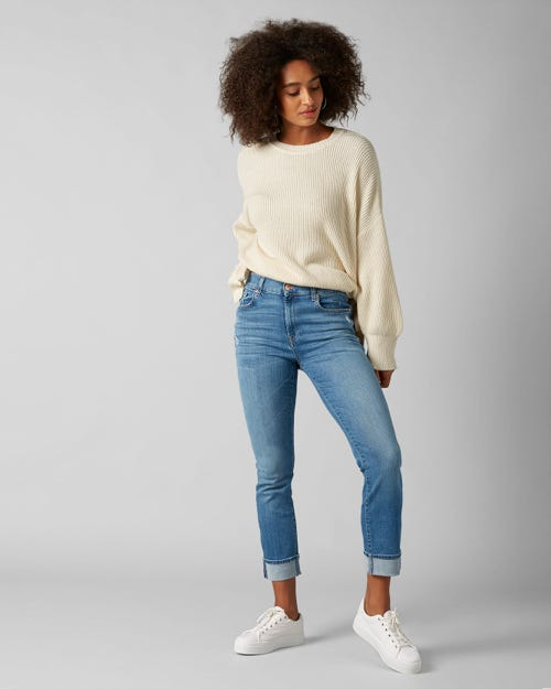 7 For All Mankind - Relaxed Skinny Slim Illusion Figueroa