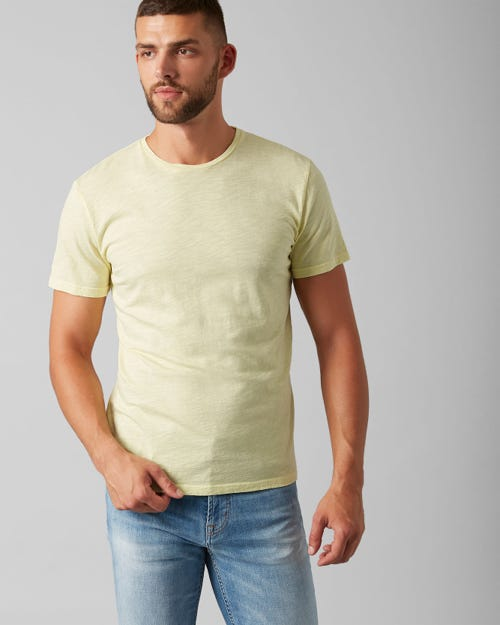 7 For All Mankind - T-Shirt Slub Fade Sun Shower