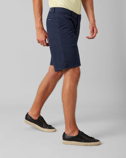 7 For All Mankind - Clean Short Ultra Light Weight Colors Navy Blue
