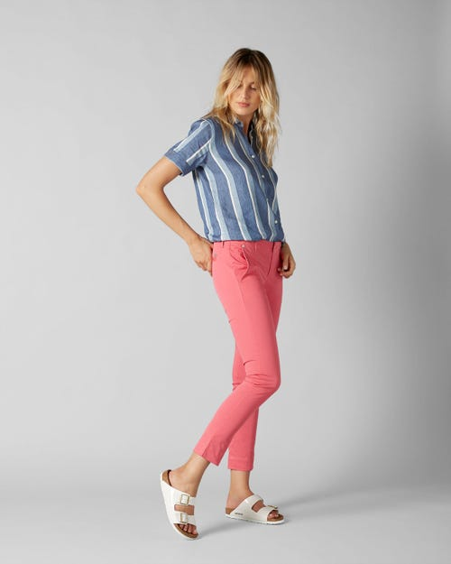 7 For All Mankind - Pyper Chino Hot Pink
