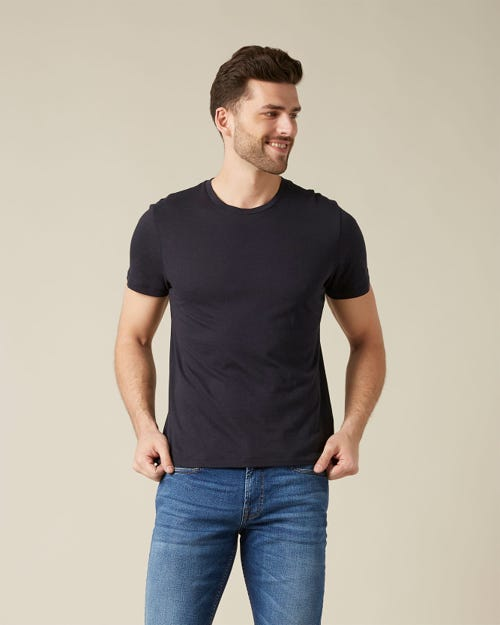 TEE CASHMERE NIGHT BLUE