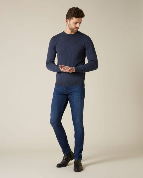 RONNIE XL LUXE PERFORMANCE INDIGO BLUE