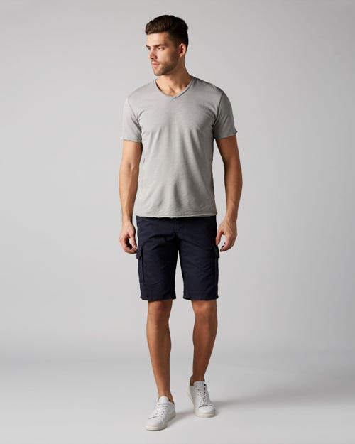 7 For All Mankind - Cargo Short Light Weight Twill Navy