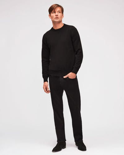 7 For All Mankind - Standard Luxe Performance Plus Black