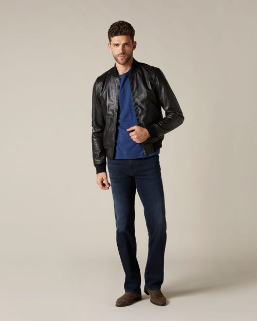 STANDARD LUXE PERFORMANCE WASHED BLUE BLACK
