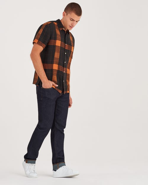 7 For All Mankind - Slimmy Airweft Denim Caveat