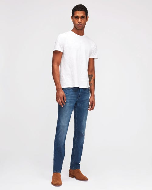 SLIMMY LUXE PERFORMANCE PLUS MID BLUE