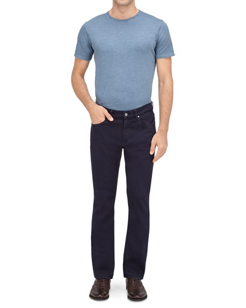 7 For All Mankind - Slimmy Luxe Performance Color Navy