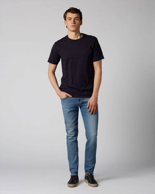 7 For All Mankind - Slimmy Tapered Luxe Vintage Florien Light Blue
