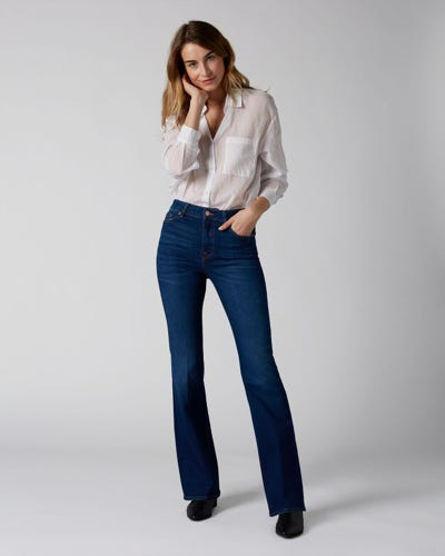 7 for all Mankind - LISHA SLIM ILLUSION MAR VISTA