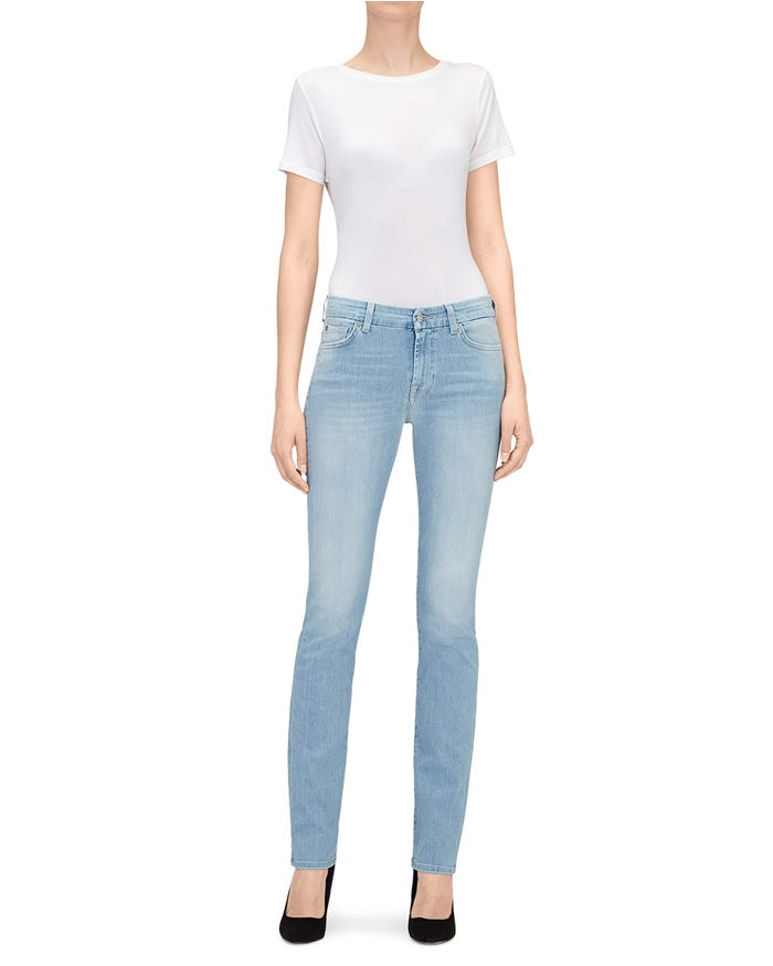 59ea29e48b Kimmie Straight Slim Illusion Air - Straight Jeans Women | 7 For All ...