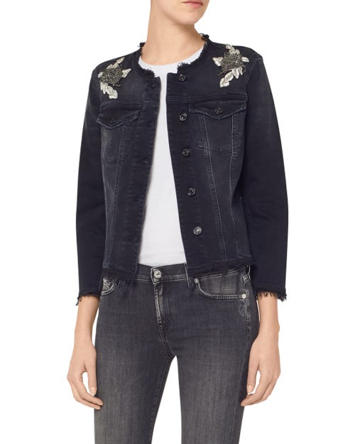 DENIM JACKET BLACKENED