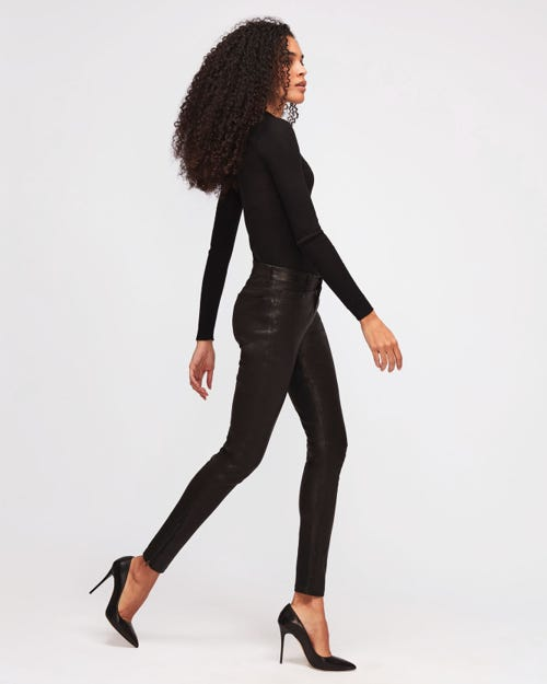 THE SKINNY LEATHER BLACK