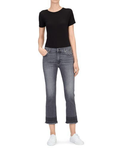 CROPPED BOOT UNROLLED SLIM ILLUSION MOMENT